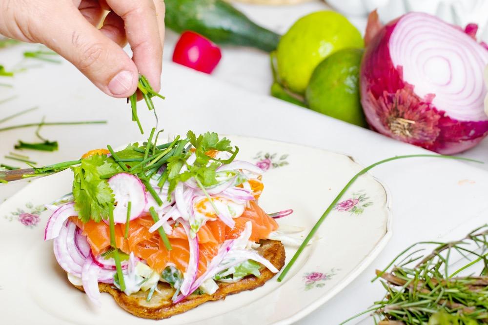 Easy Salty Smoked Salmon Recipe